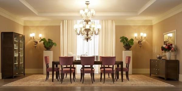 romantic dining room set
